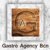 Logotipo Gastro Agency Bcn