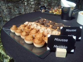 Imagen: Distintas opciones de mousse