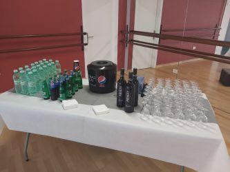 Imagen: Servicio de bebidas