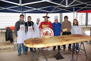 Imagen Samuel, Tortilla Gigante